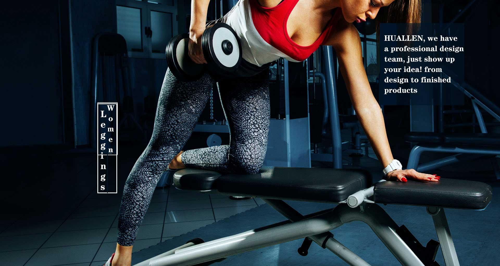 Women-leggings-in-HUALLEN-sportswearmfg