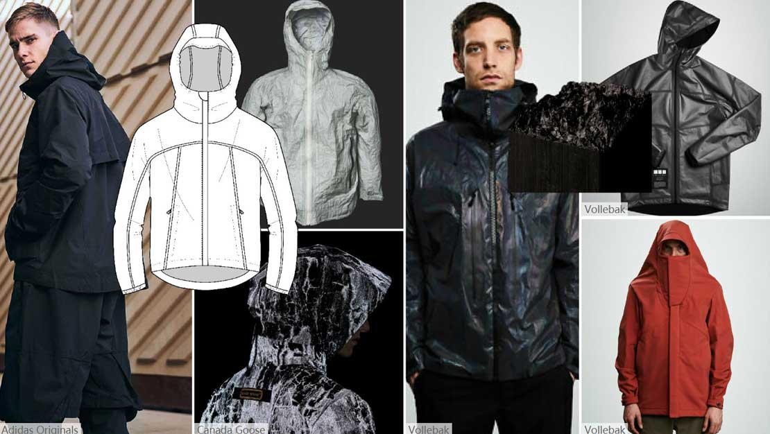 Armor jacket made of graphene material came into being which is at the theme of doomsday and the only material for Nobel Prize