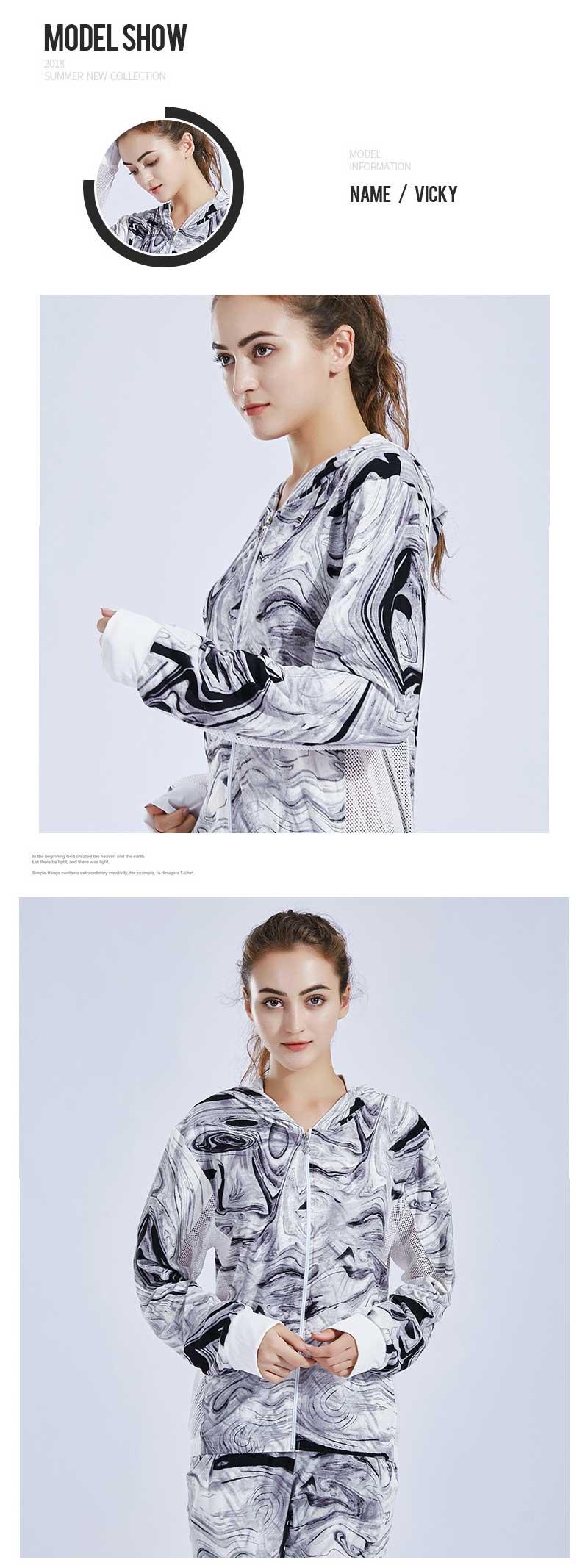 Custom-print-hoodies-model-show
