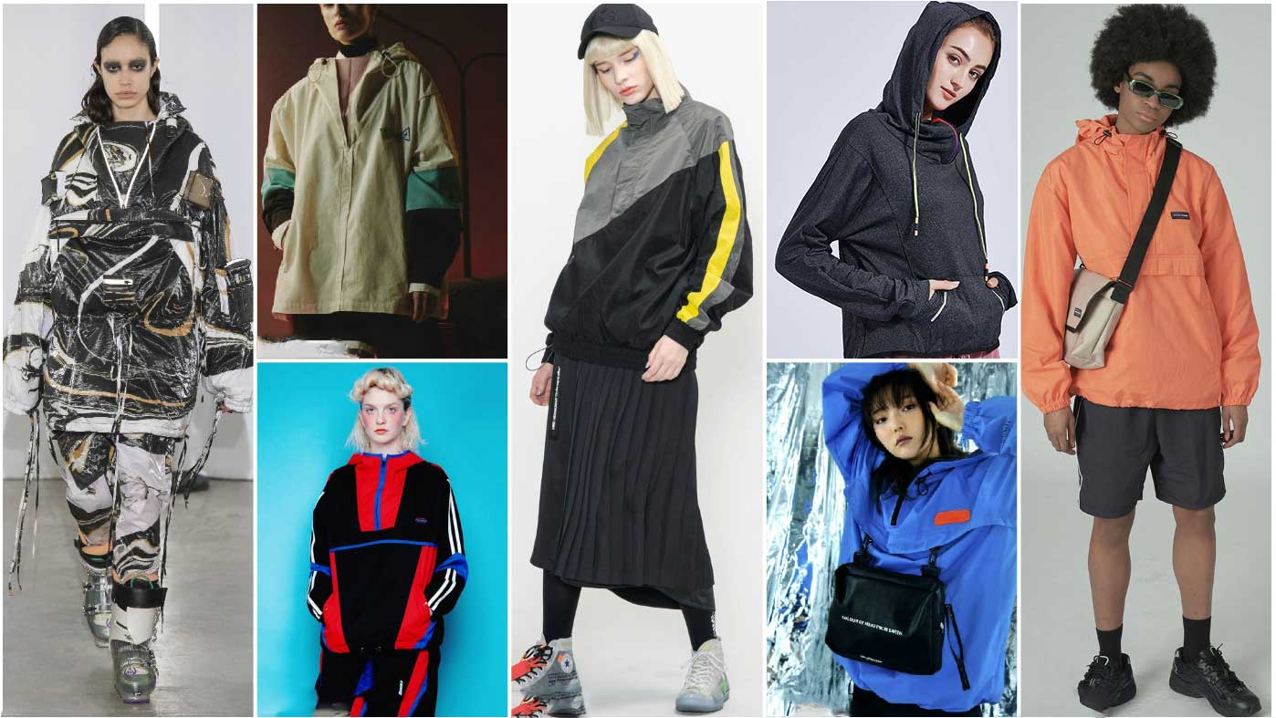 Functional pullover sports jacket