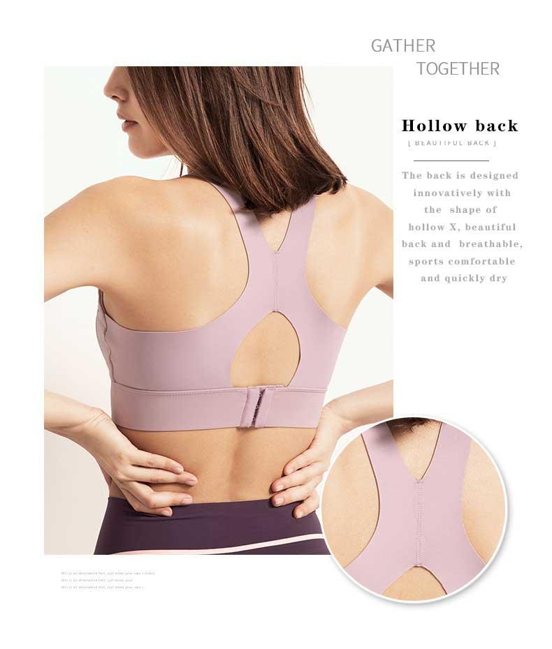 High-impact-sports-bra-hollow-design-shape-back