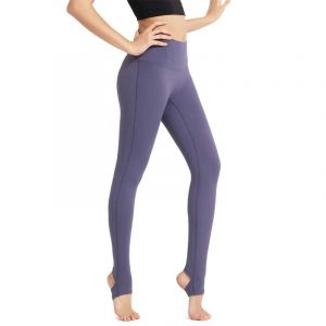High waisted yoga pants ankle length ankle length pants first appeared in the late 1980s,which is the common fashion of womens wardrobe in early 1990s.