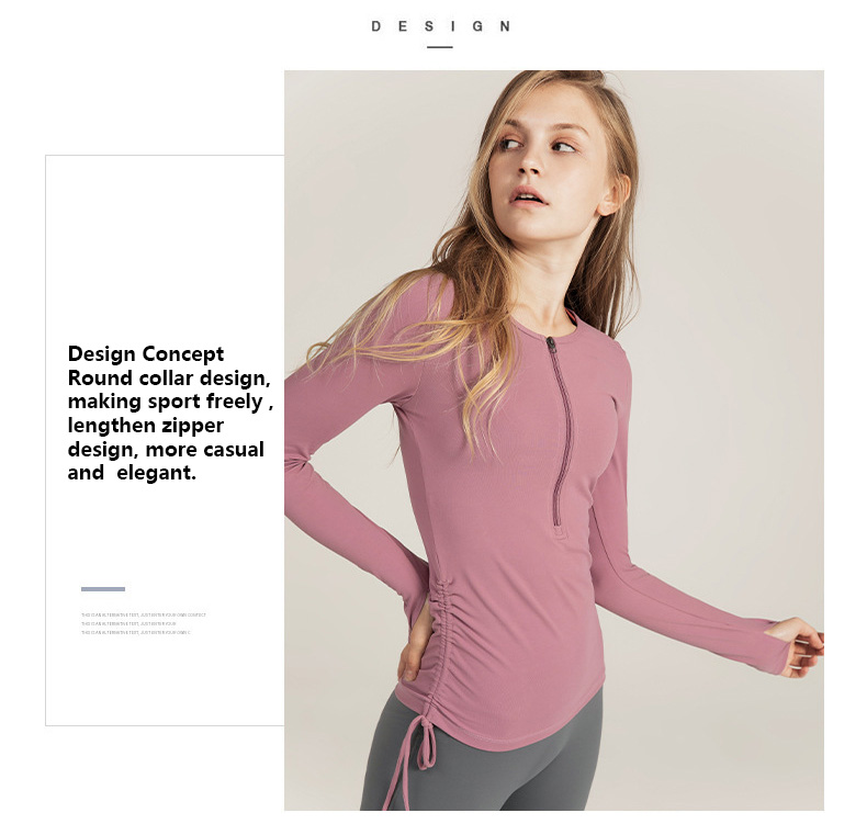 Long-sleeve-workout-shirts-with-round-collar-design-making-sport-freely