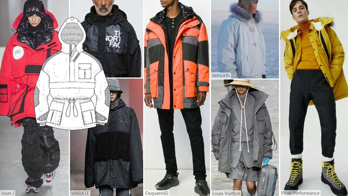 Originating-from-traditional-Eskimo-clothing,-Parka-have-already-become-the-necessary-items-for-casual-and--fashions