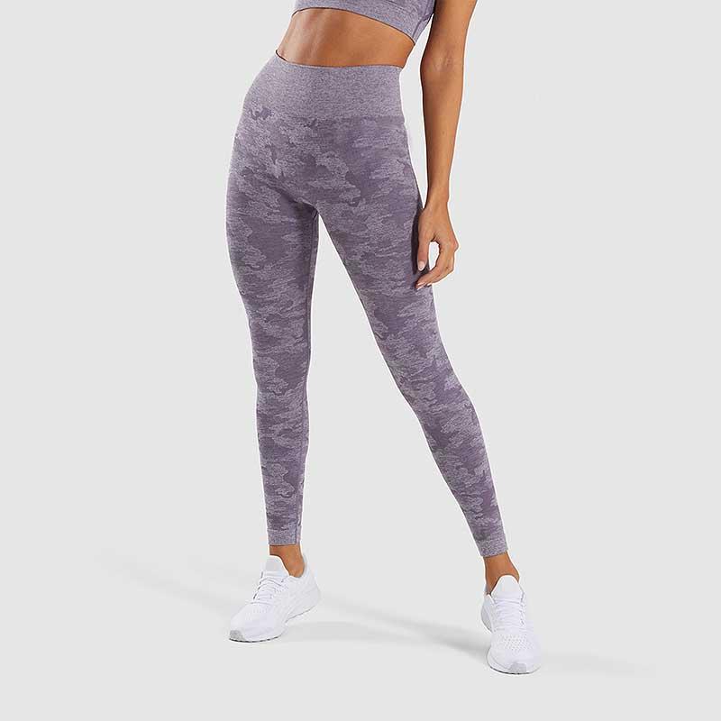 Purple-camouflage-seamless-sports-leggings