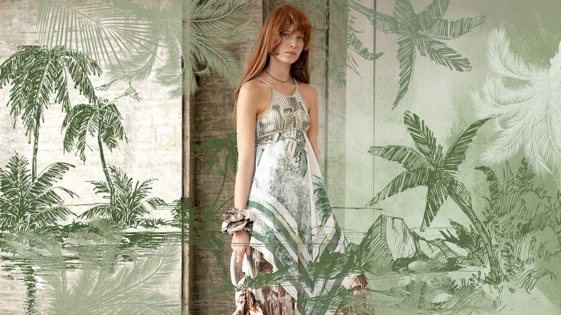 Seychelles daylight jungle - trends in women's wear patterns