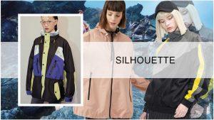 Sport fashion - Jacket silhouette trend of women's