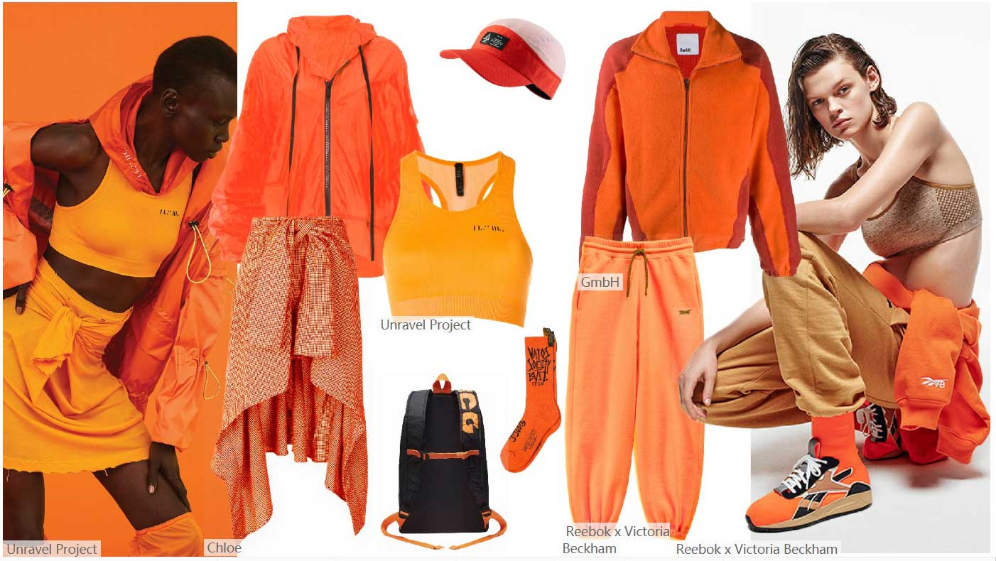 Vermillion Orange Group Matching