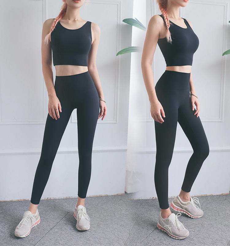 Black-color-high-waisted-workout-leggings