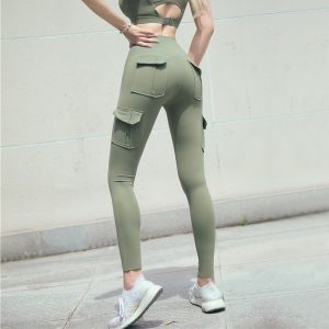 Cargo-yoga-pants-high-waist-fitness-pants