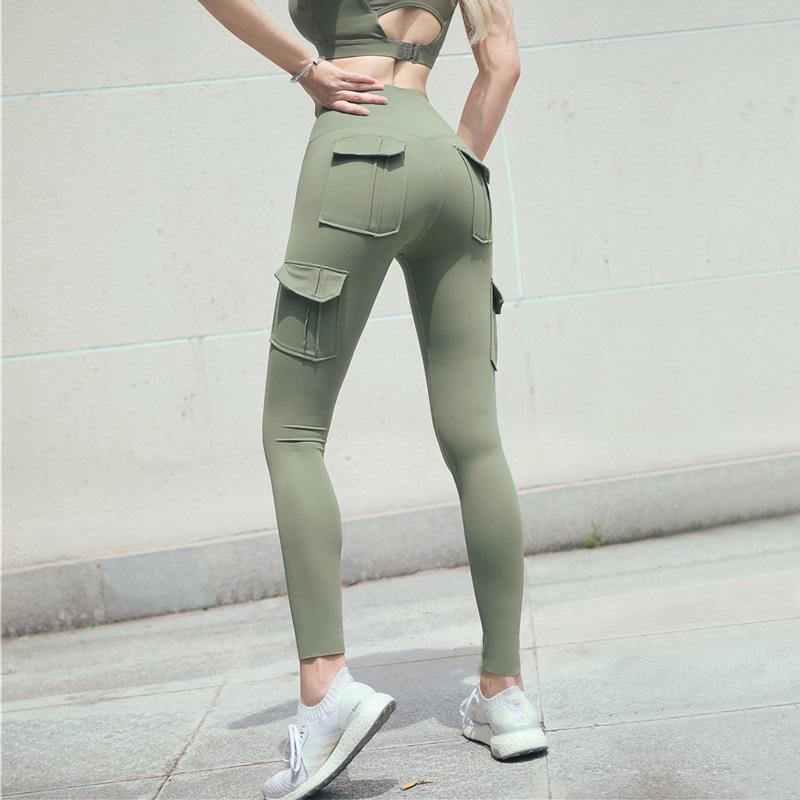 Cargo-yoga-pants-high-waist-fitness-pants