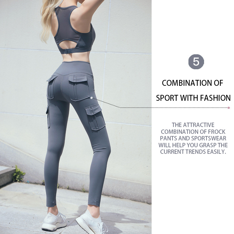 Cargo-yoga-pants-is-combination-of-sport-with-fashion