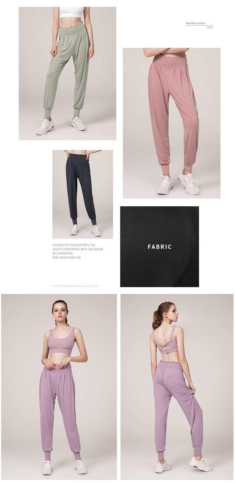Casual-yoga-pants-light-and-soft-spun-rayon-230-grams-thin-and-no-see-through