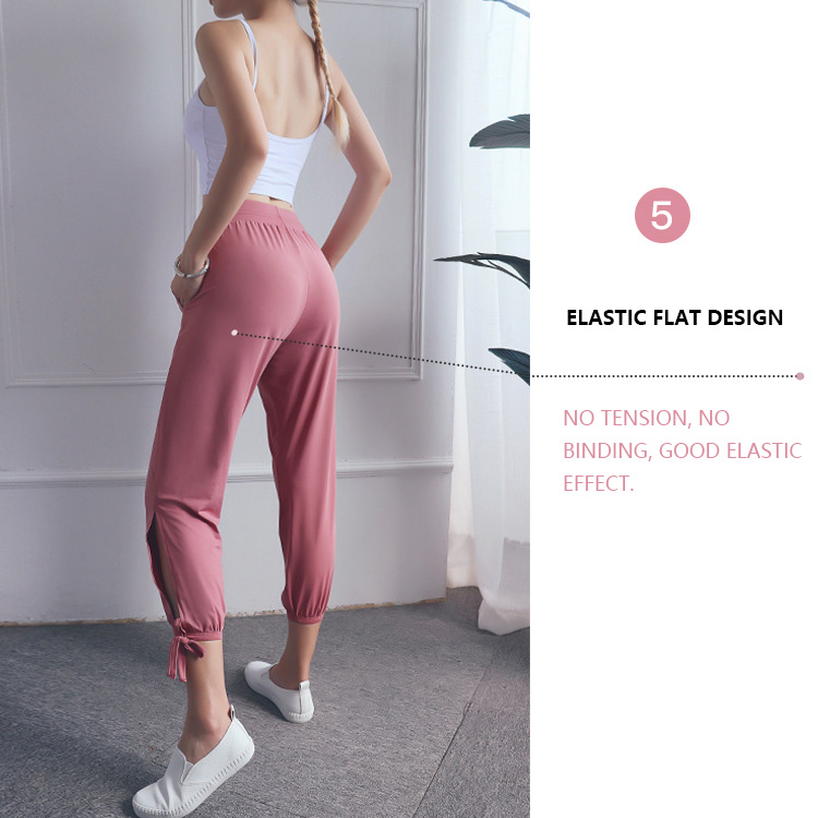 Elastic-flat-yoga-pants-with-side-slits