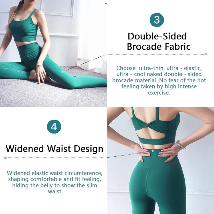 High-waisted-gym-leggings-fabric-description