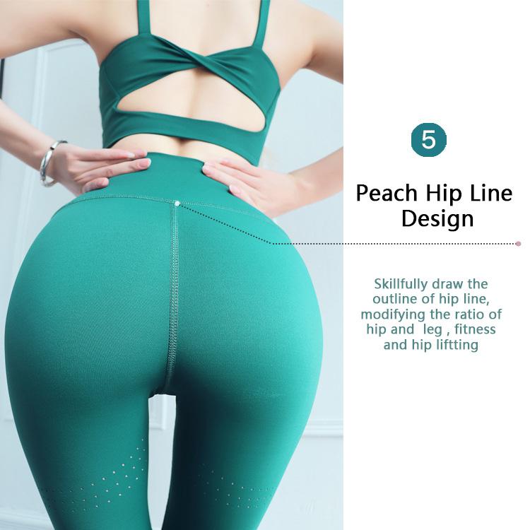 High-waisted-gym-leggings-peach-hip-line-design