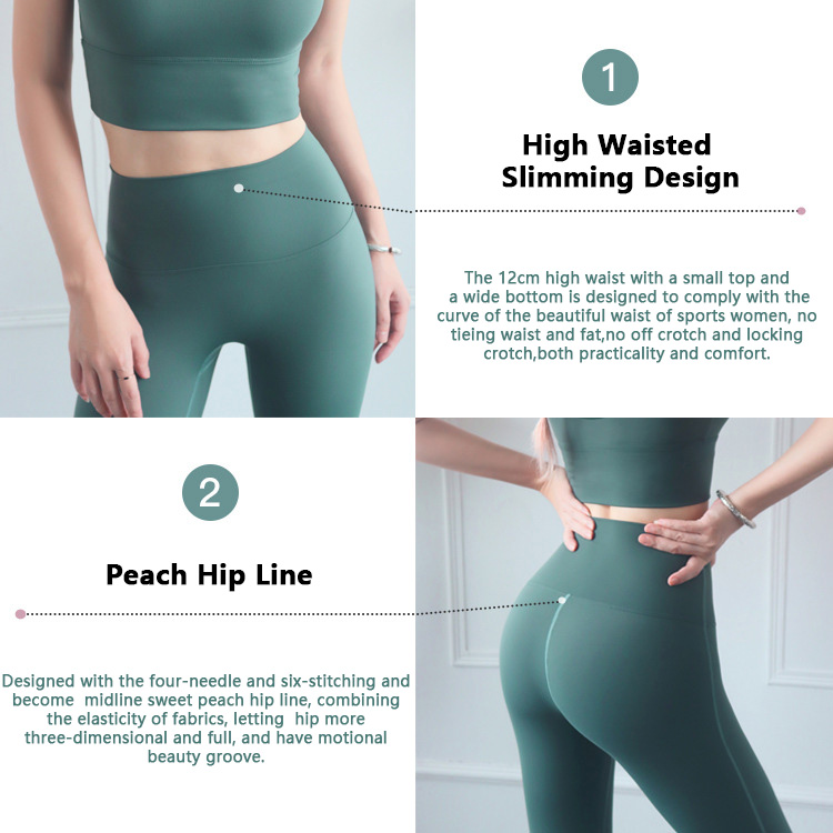 High-waisted-workout-leggings-waistband-and-peach-hip-line-design