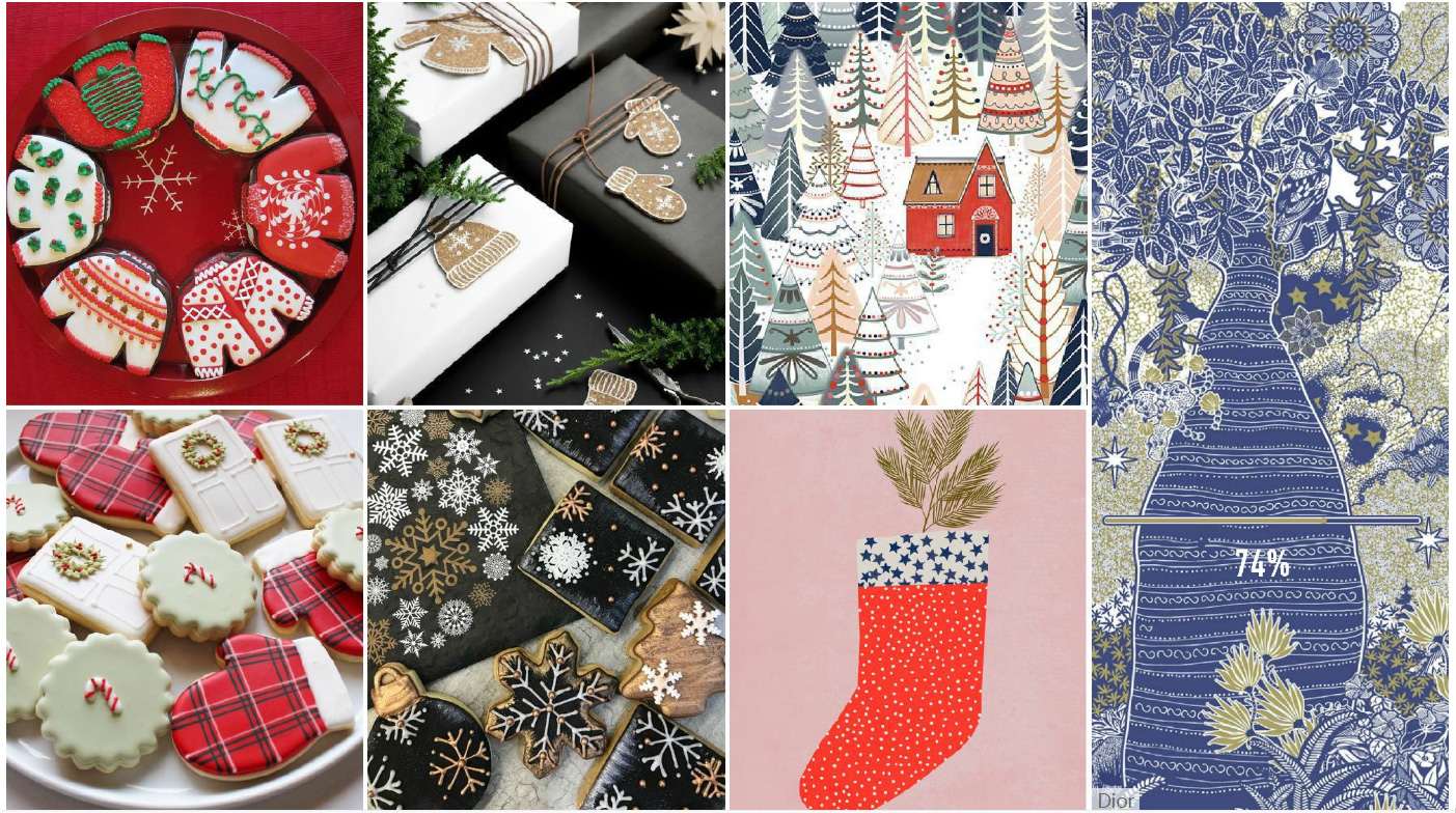 Inspiration collection - Christmas elements,Graphic design
