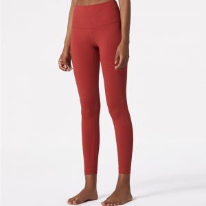 Running leggings with pockets slim exercise pants with naked feeling