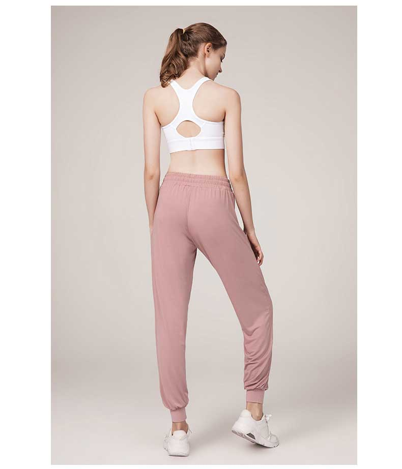 The peach hip line design shows the beauty of sport