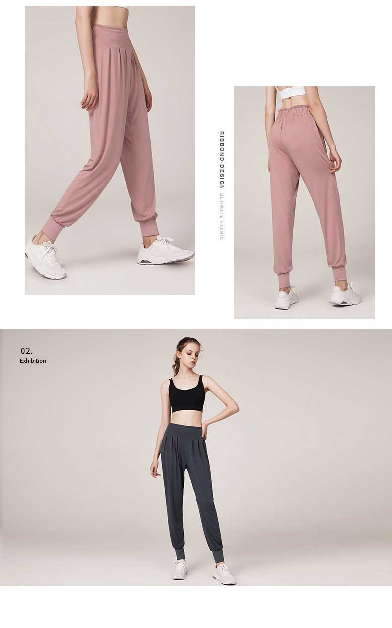 Tight pant legs design prevent moving and make sport more lighter.