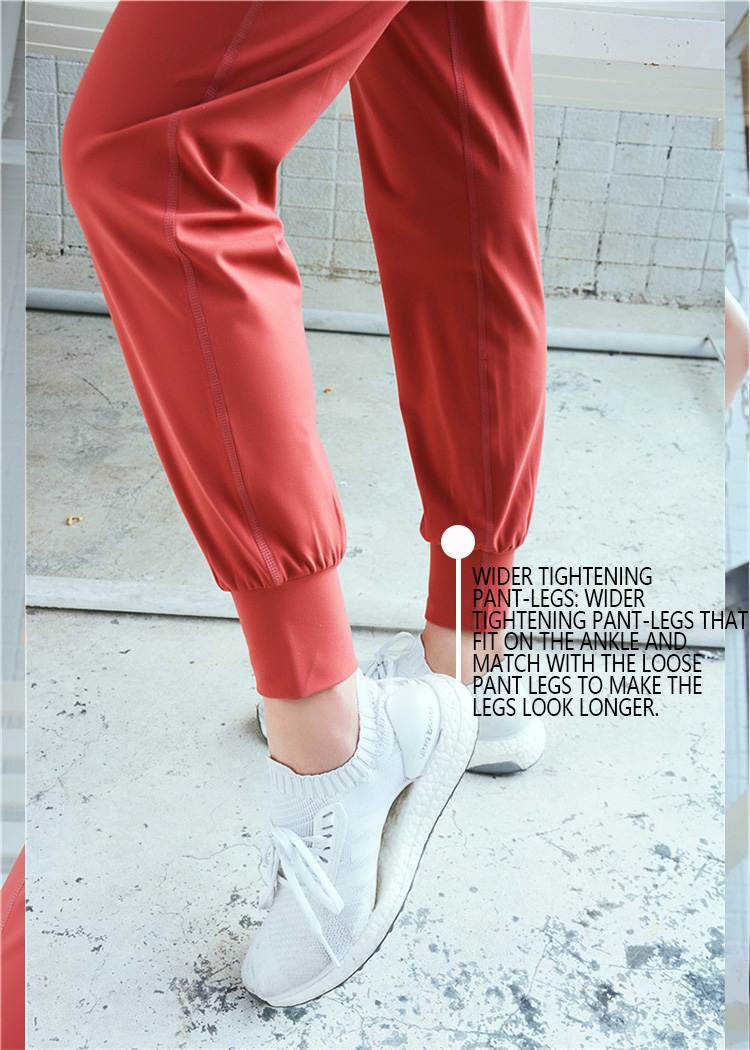 Wider-tightening-pant-legs-of-loose-yoga-pants