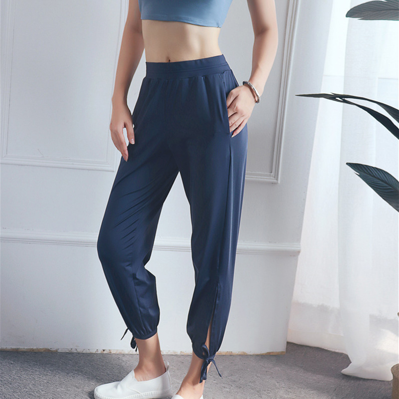 Yoga pants with side slits Yoga pants with slits