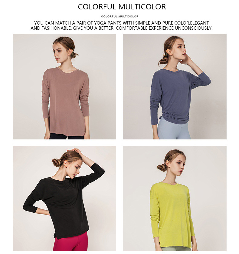 colorful-multicolor-for-long-sleeve-yoga-tops-shirts