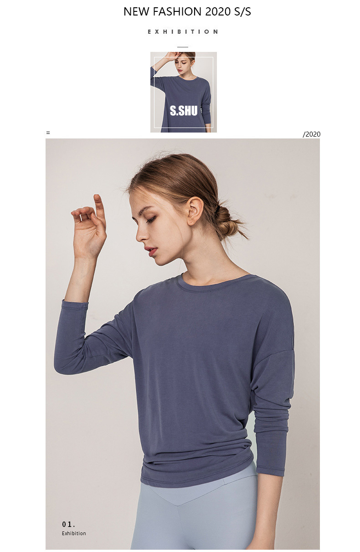 new-fashion-2020-long-sleeve-yoga-tops-shirts