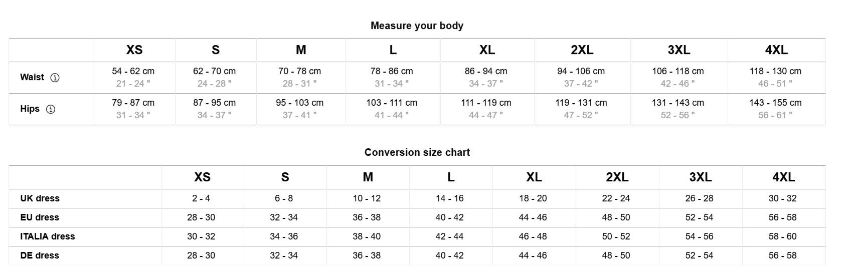 Design-your-own-leggings-size-chart-details