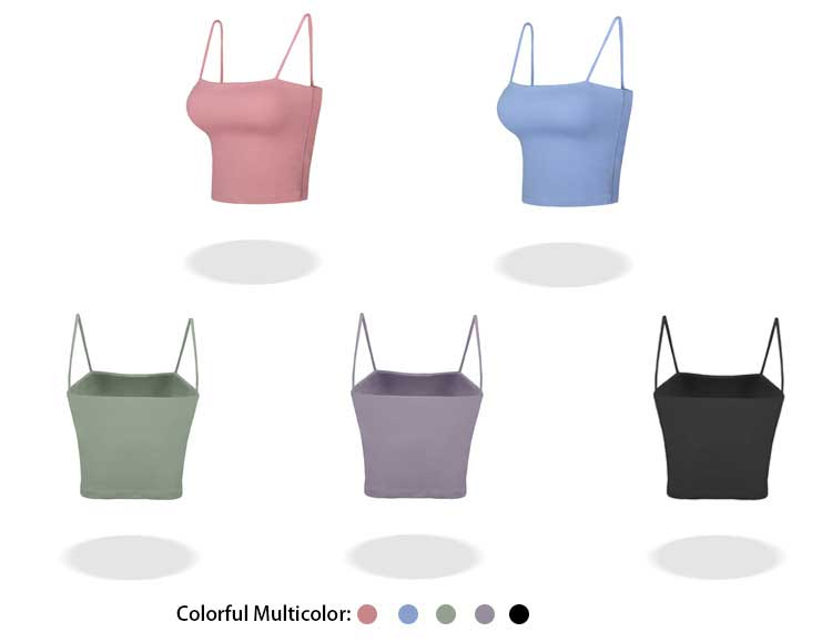 Yoga-bra-tops-with-tiny-belts-colorful-multicolor