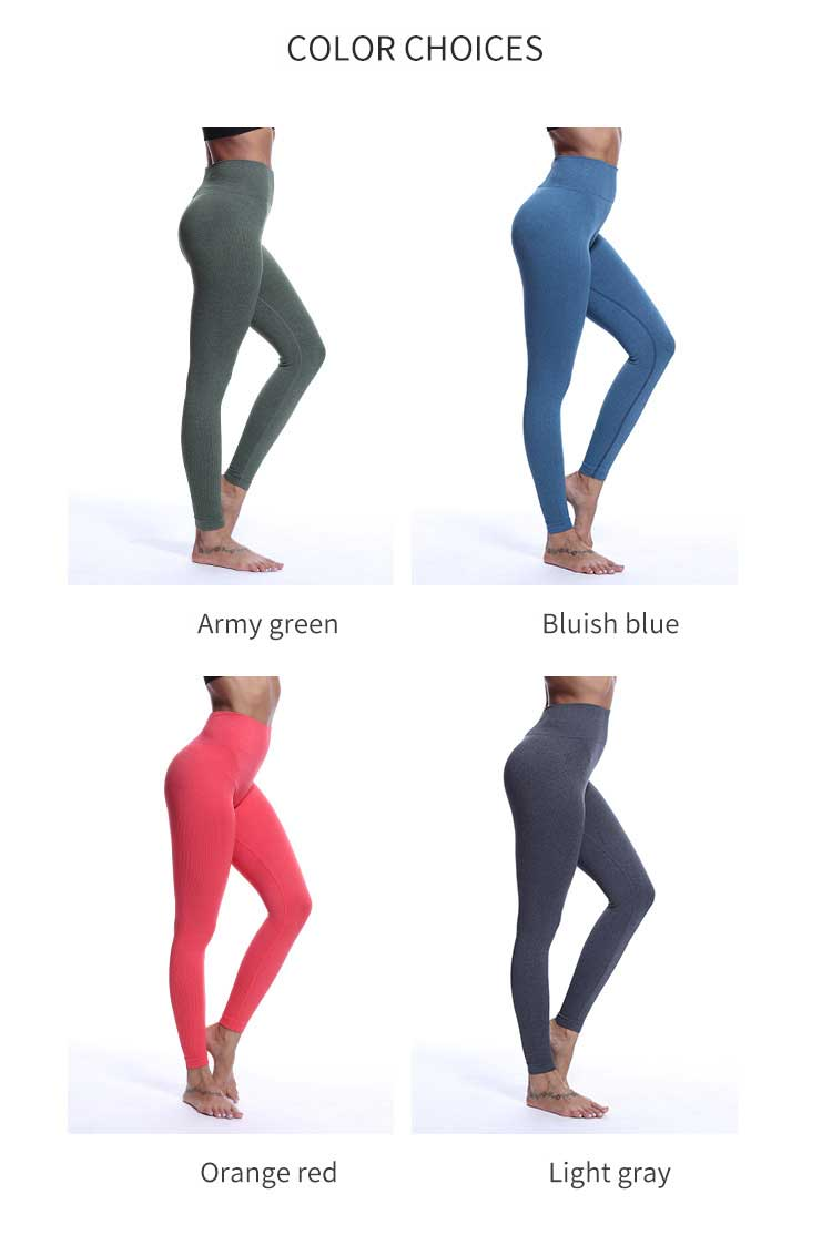 Multicolor-choices-for-Seamless-high-waisted-leggings