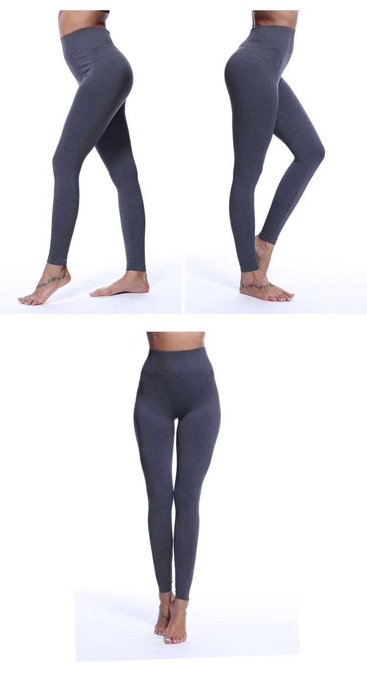 light-grey-color-display-of-seamless-leggings-high-waisted-band