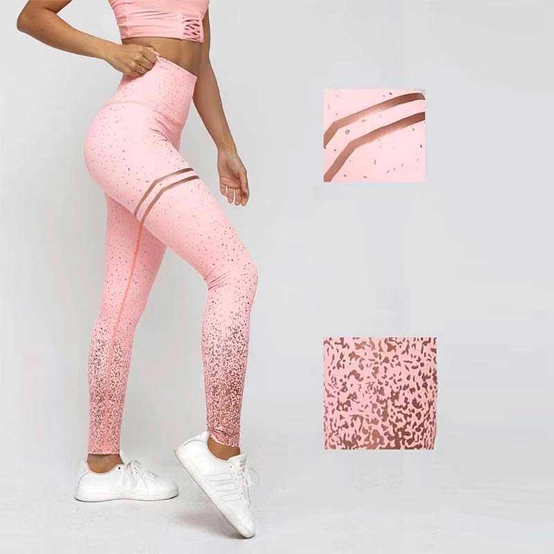 Glitter-printing-leggings-with-Imitation-bronzing-pulp-printing-tech