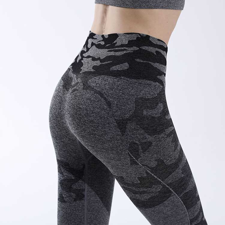 High-waist-design-of-camo-seamless-leggings