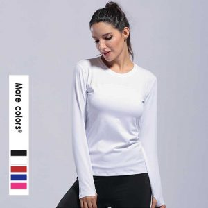 Long sleeve workout shirts womens