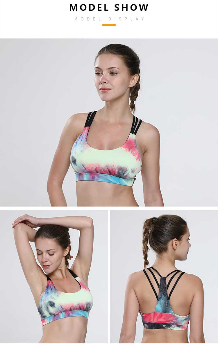 Padded-push-up-sports-bra-model-show