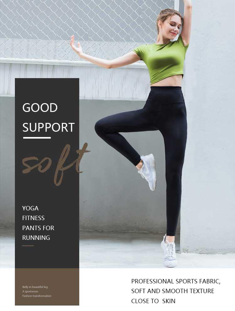 Yoga fitness pants for running outdoor high-waisted sport pants for women's leggings