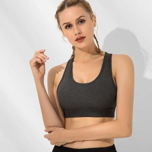 sports bra with back closure