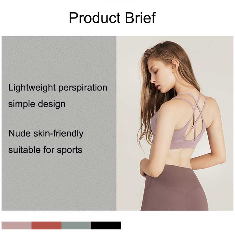 Cross-back-sports-bra,-flat-chested-girl-don't-have-to-worry-too-much