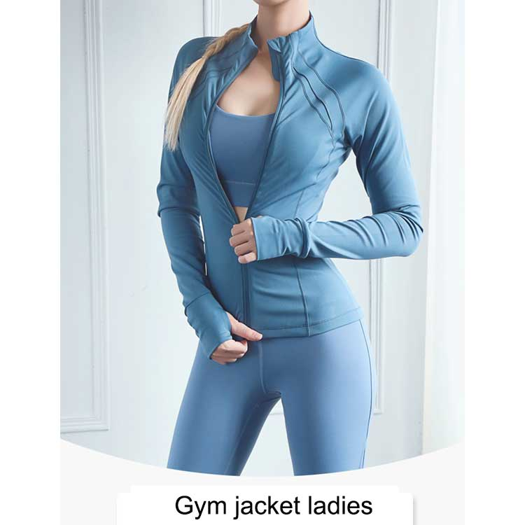 Gym-jacket-ladies-adopts-high-quality-four-dimensional-stretch-fabric-to-moisture-removal