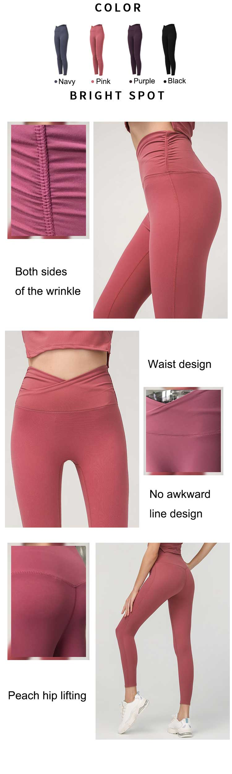 This-is-a-contracted-but-not-simple-solid-color-high-waisted-gym-tightss