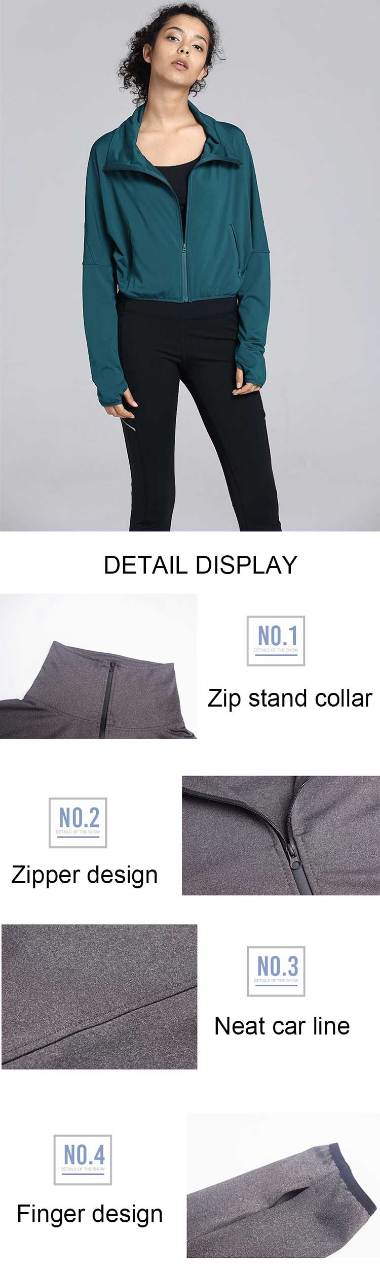The-cropped-sports-jacket-of-leisure-style-is-designed,-integrated--slim-cutting.