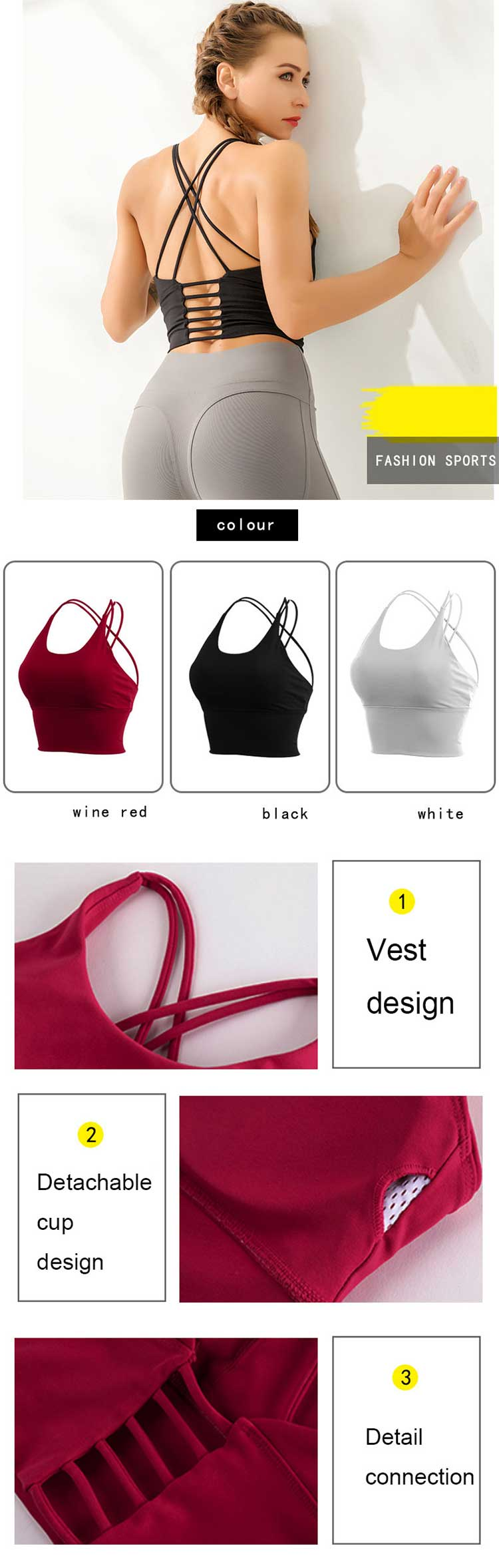 This-is-a-concise-but-not-simple-cross-sports-bra.-Elegant-back-line-design,-increase-wear-stability