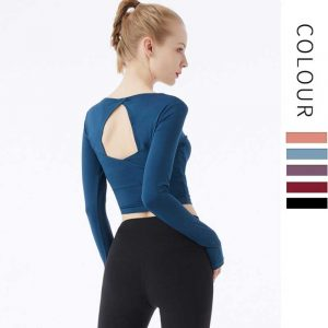 open-back-workout-shirts