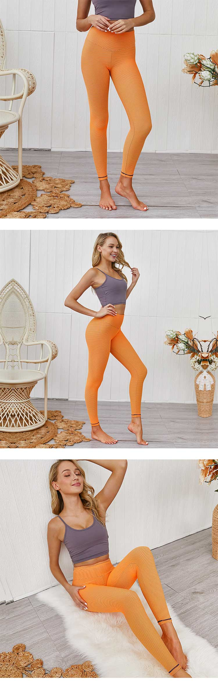 women-in-tight-yoga-pants,with-less-requirements-of-consumer's-fitness-and-exercise-to-the-time-and-place