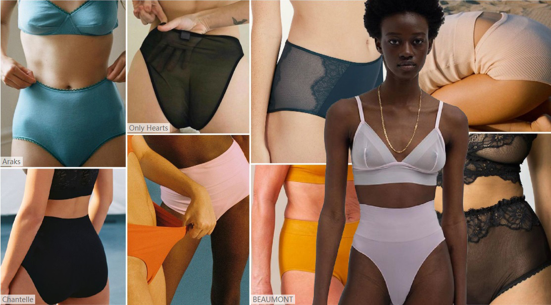 High-waist-underwear-is-the-key-style-of-the-average-size-series,-which-integrates-the-characteristics-
