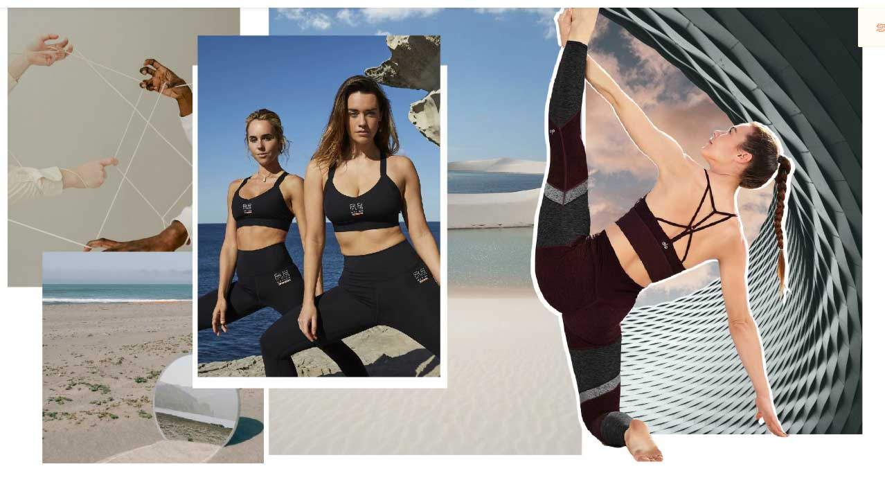 the classic color stitching USES different prints, colours and shapes for leggings, jumpsuits and tights
