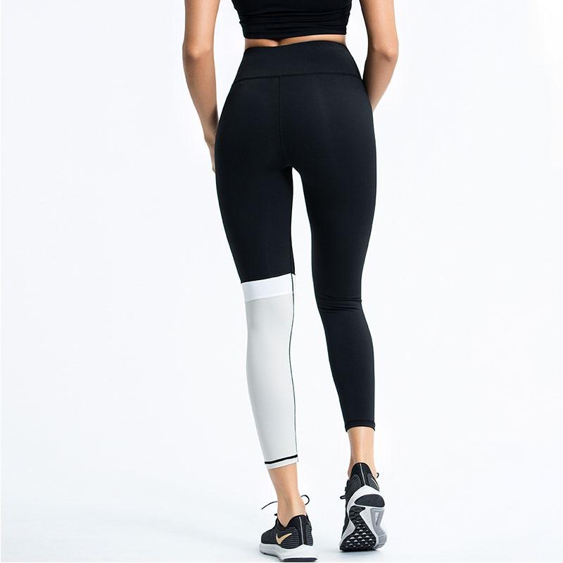 Black-and-white-yoga-pants