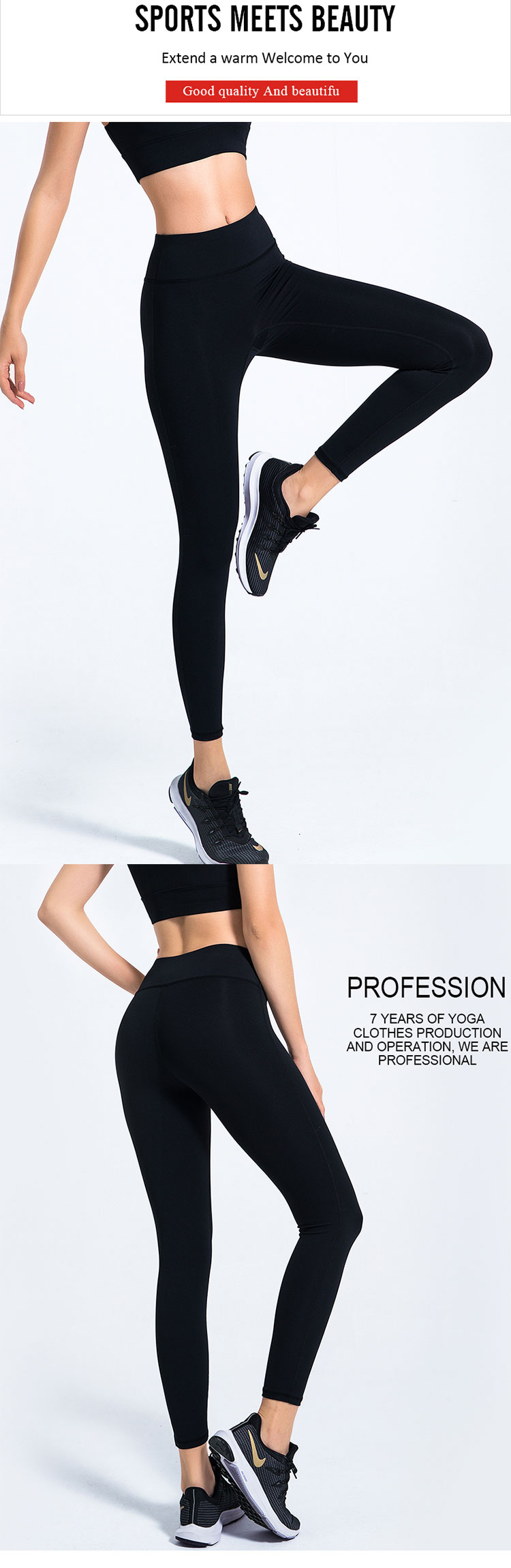 Black-running-leggings,-combined-with-simple-design-to-create-a-comfortable-and-careful-design